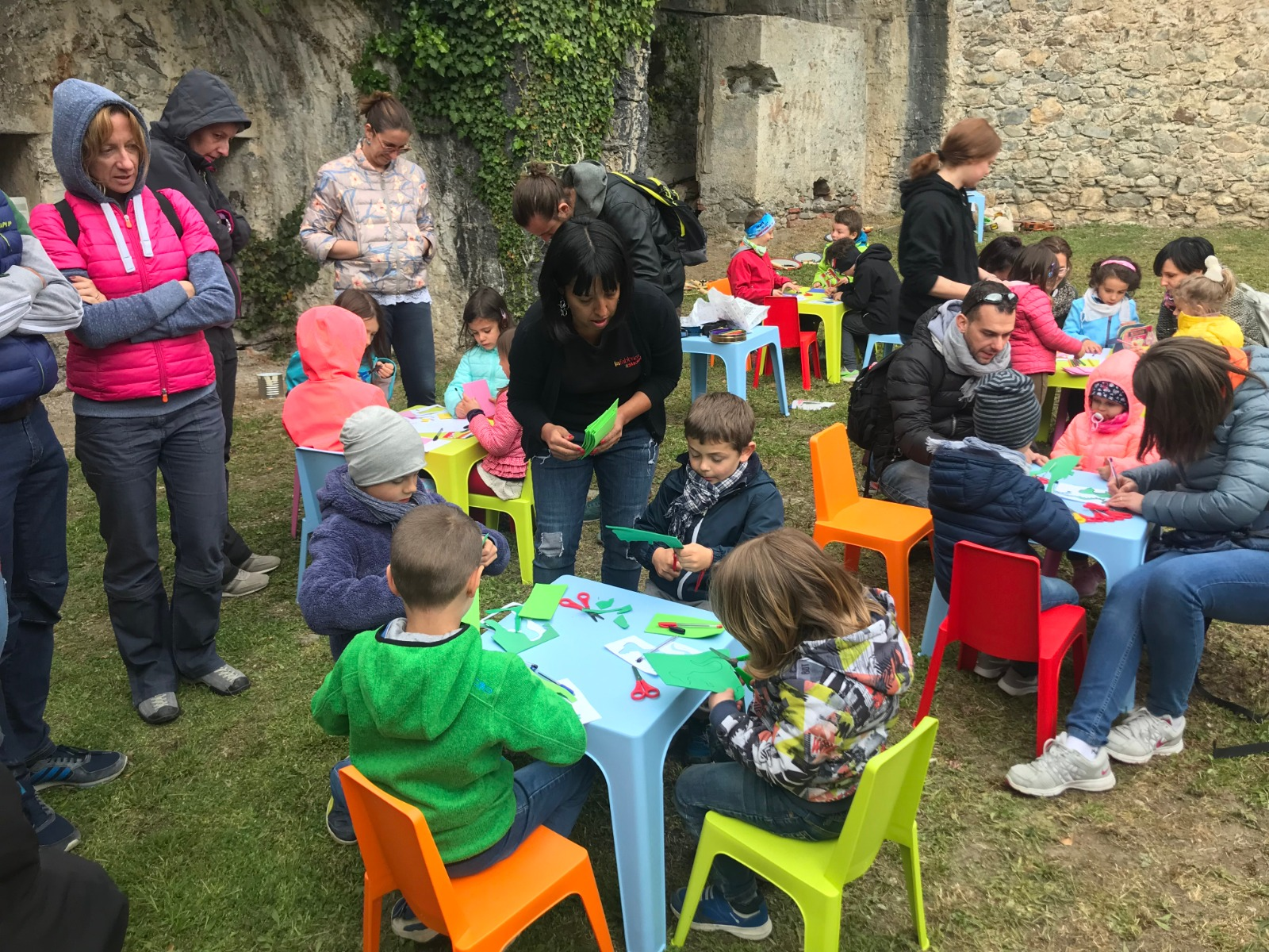 Un precedente laboratorio con i bambini