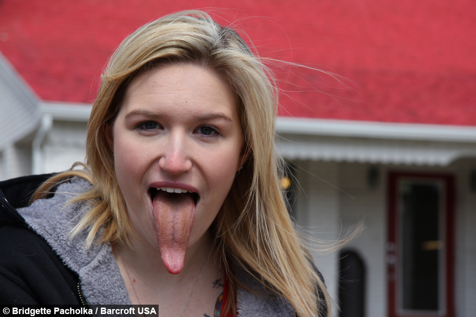 World longest tongue guinness world record