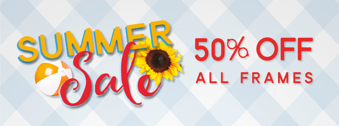 Summer Sale 50% off All frames