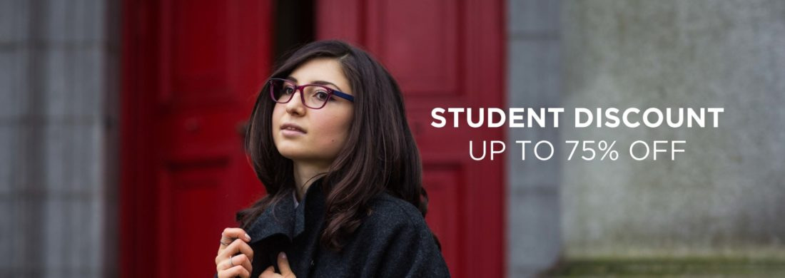 Student Discount up to 75% off