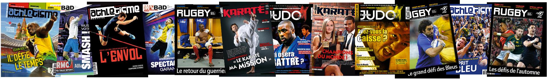 Banner magazines