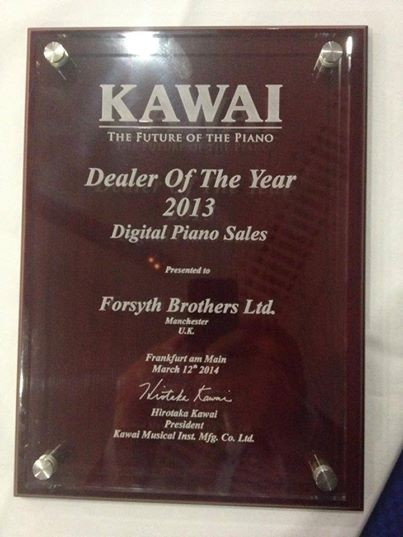 Kawai Digital Dealer of the Year