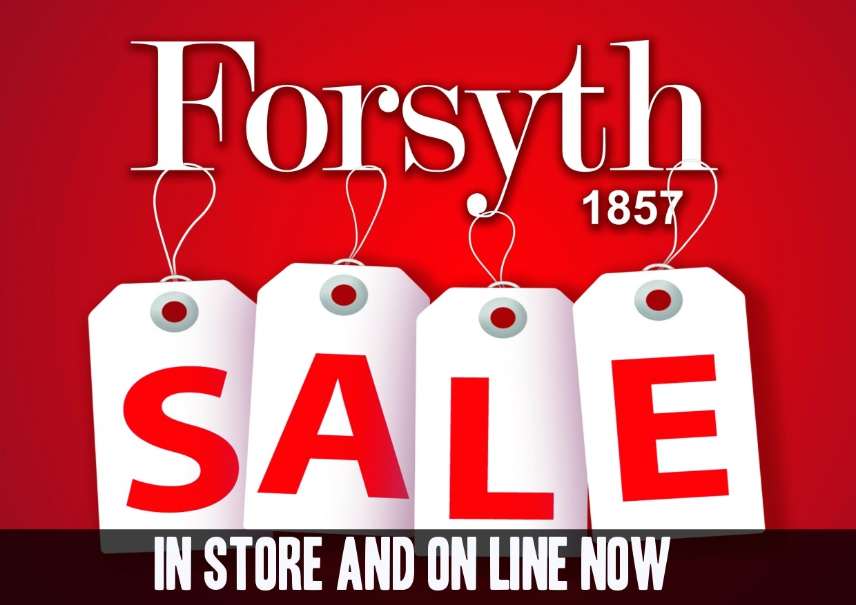 Forsyth Sale Now On