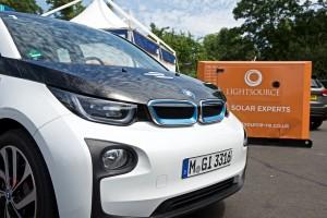 Lightsource battery and Formula E safety car