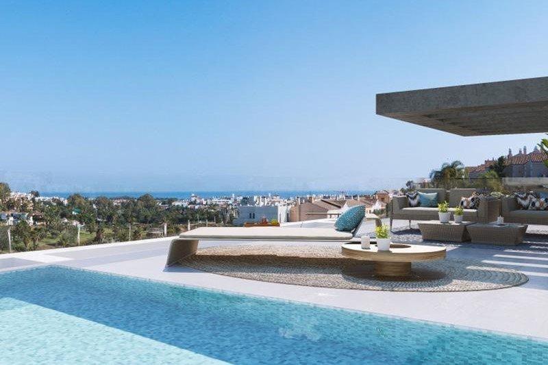 Ref:1048MLND Penthouse For Sale in Estepona