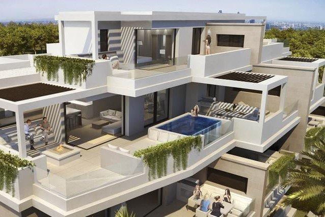 Ref:1228MLND Penthouse For Sale in Estepona