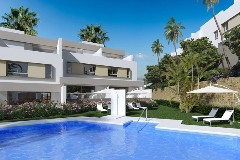Ref:2121MLND Townhouse For Sale in Mijas