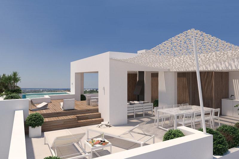 Ref:2633MLPH Penthouse For Sale in Benahavis