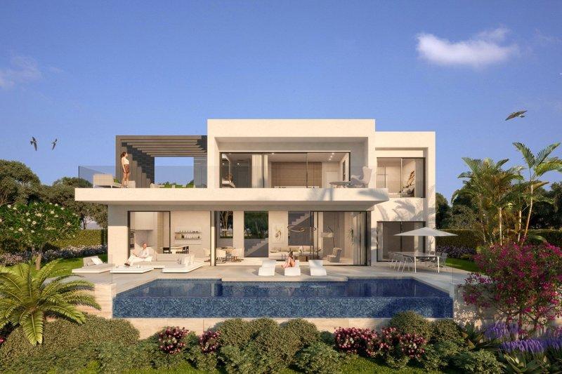 Ref:2049MLNDVB Villa For Sale in Estepona