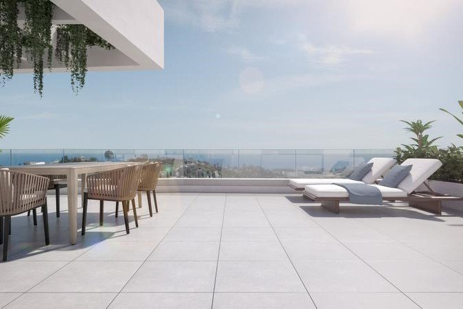 Ref:1159MLND Penthouse For Sale in Estepona