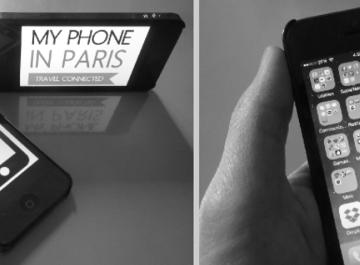 My Phone in Paris