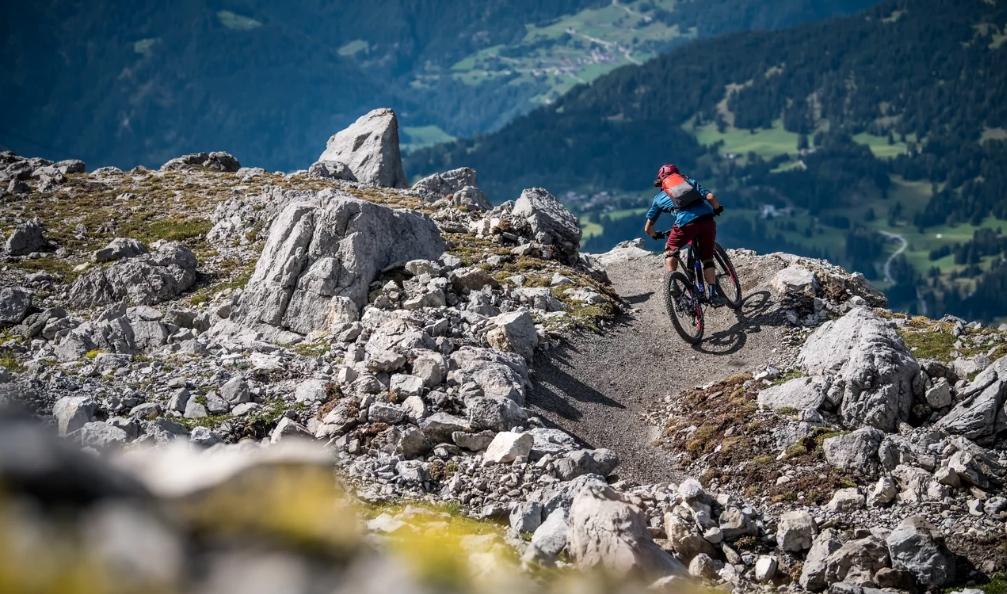 The Great White – Lenzerheide eröffnet alpinen Trail für Fortgeschrittene