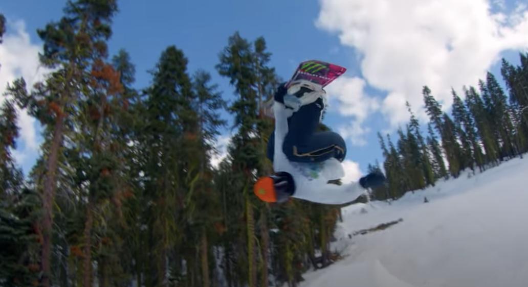 Das erste Monster-Energy Video nur mit Snowboarderinnen