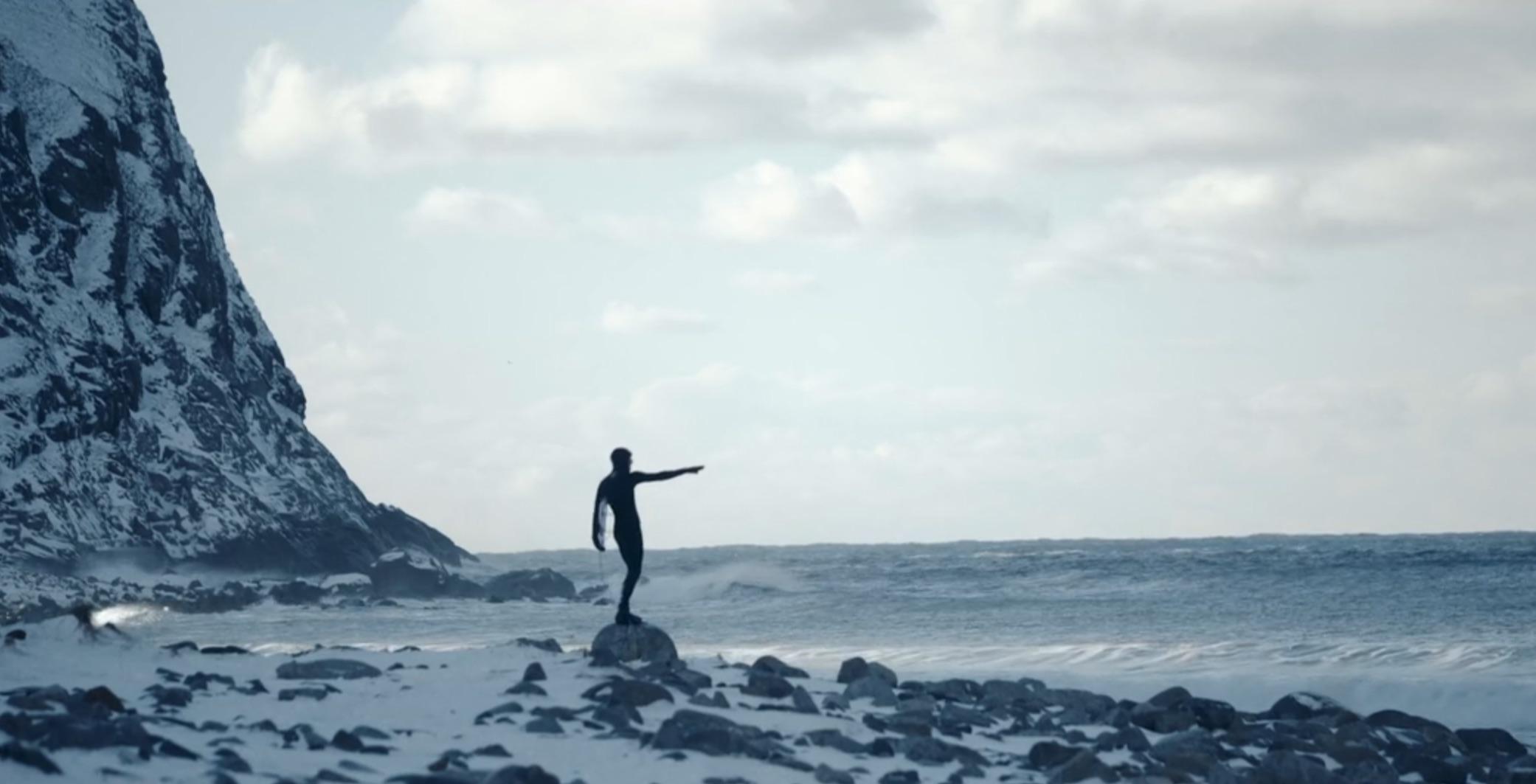 Marlon Gerber – Sein erstes Mal in kaltem Wasser