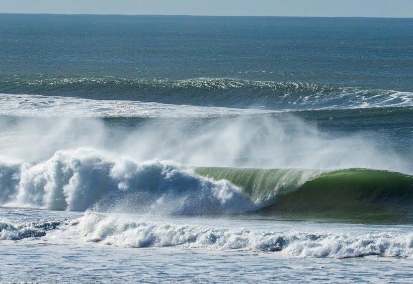 Perfekte Wellen in Hossegor und fast nix los im Wasser!