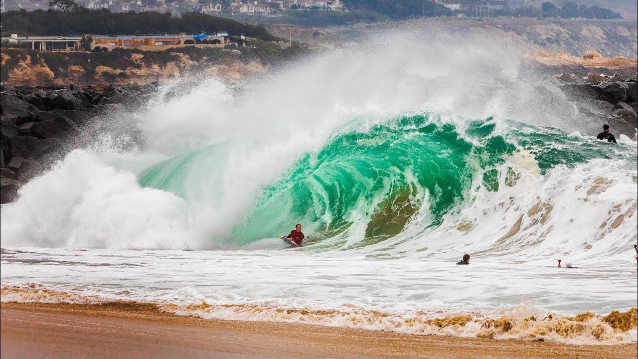Jamie O'Brien & The Wedge – JOBs Lieblingswelle in Kalifornien