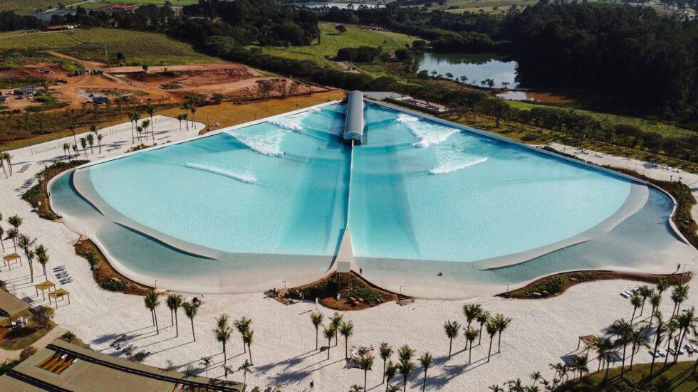 Wavegarden feiert die Eröffnung des ersten Wavepools in Brasilien