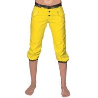 Womenpant sahel 3 4 yellow