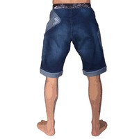 Menshort sahel denim blue
