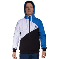 Menhoodie multi black white blue cap