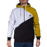 Menhoodie multi black white blue