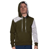 Menhoodie accessories army white