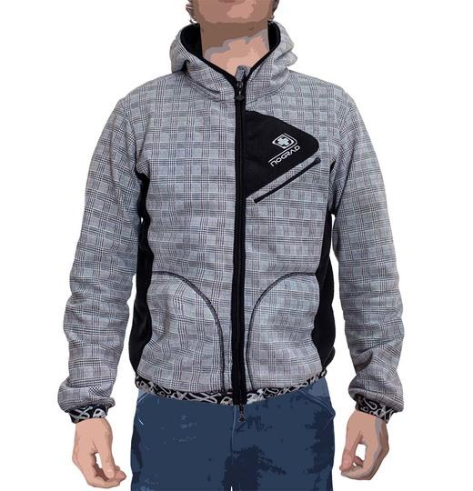 Menjacket dissident scottich grey black