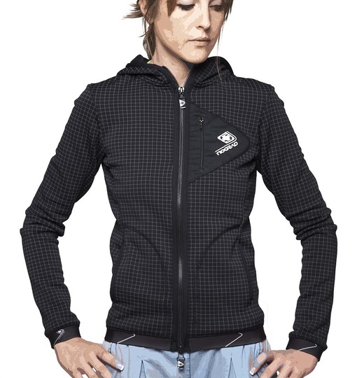 Womenjacket ascension scottich web houndstooth black