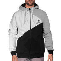 Menjacket multi black white grey