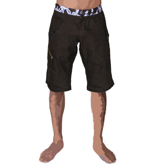 Menshort resistant black