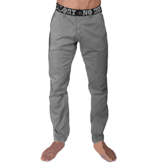 Menpant fonzi grey