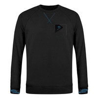 Mensweat pocket black blue
