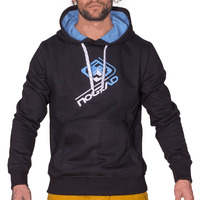 Menhoodie mountain black 0683