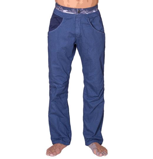 Menpant sahel print blue 0581
