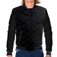 Women jacket teddy blue black