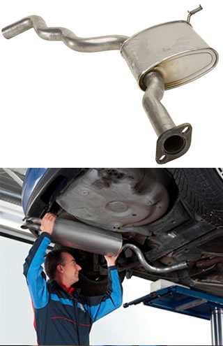 Exhaust replacement Atlas Autoservice