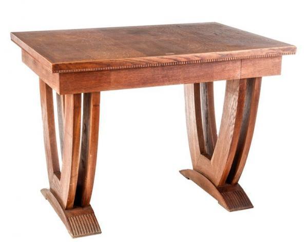 Production pier luigi colli table de bureau en bois haut