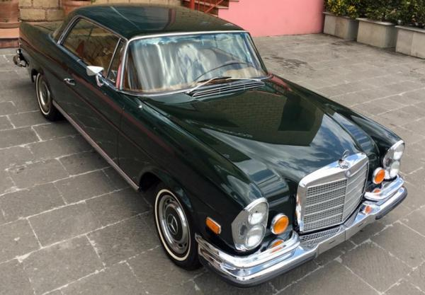 MERCEDES 280 SE COUPE 1971