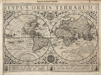 Gérard MERCATOR - Jodocus HONDIUS - Atlas minor, ou Briefve...