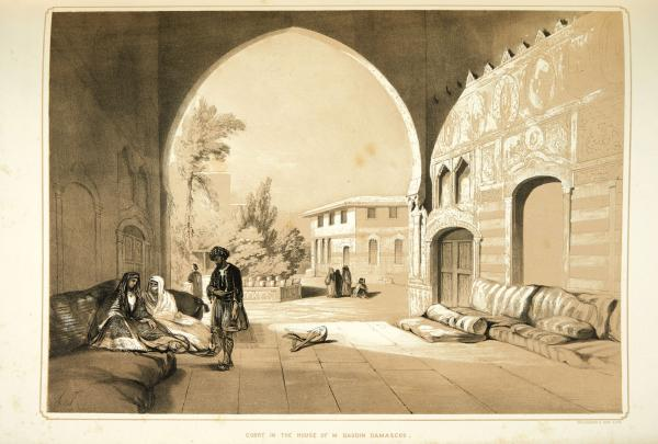 Tenison, Lady Louisa : Sketches in the East drawn on Stone by Dickinson and[...]
