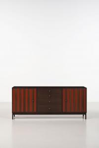 ettore sottsass 1917 2007 enfilade palissandre. Black Bedroom Furniture Sets. Home Design Ideas