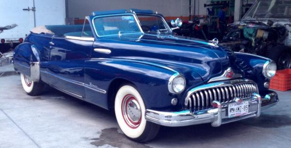 BUICK ROADMASTER CONVERTIBLE  1948