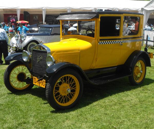 TAXI FORD T 1926