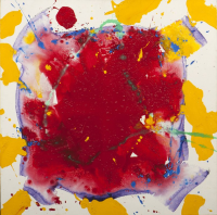 SAM FRANCIS (San Mateo 1923 - Santa Monica 1994)  Untitled Crow, 1986.