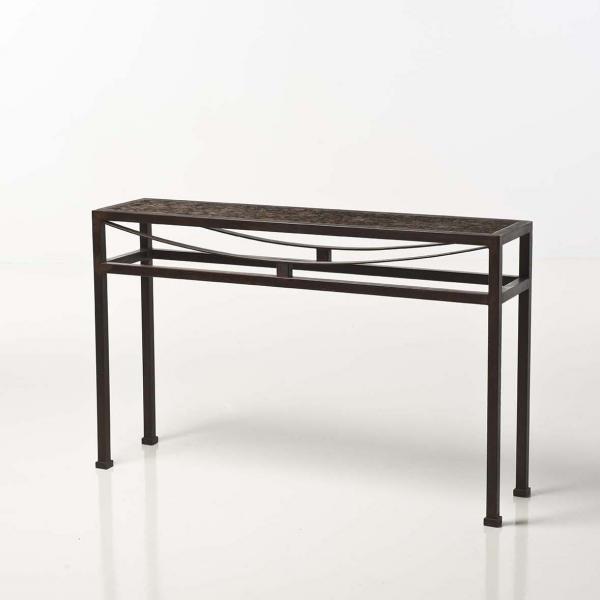 jean michel wilmotte n en 1948 oxyde console fer. Black Bedroom Furniture Sets. Home Design Ideas