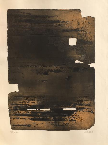 SOULAGES (Pierre).  -