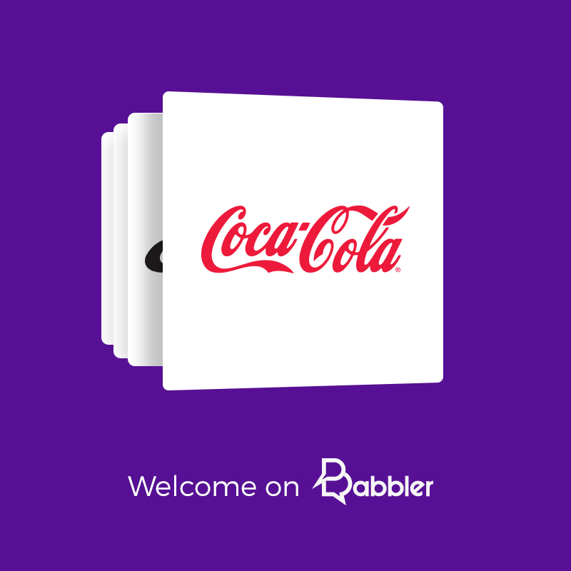 Coca-Cola just joined Babbler!