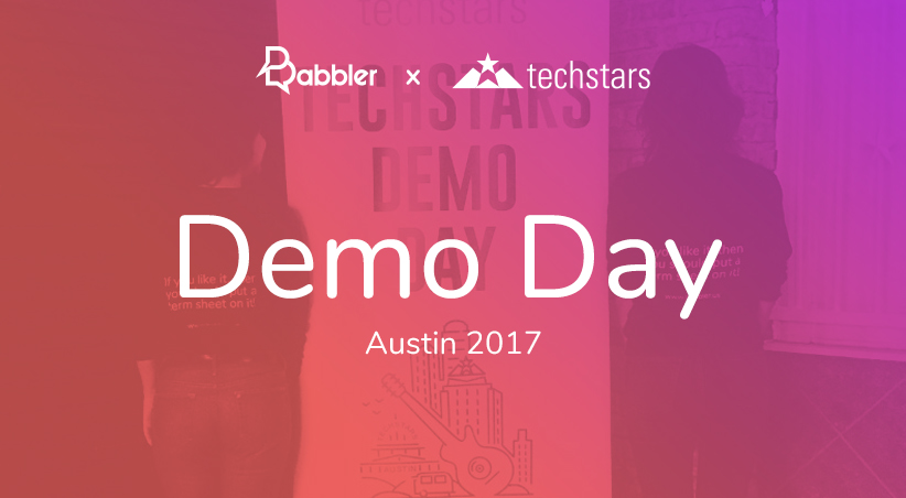 Discover Techstars Demo Day with our CEO pitch!