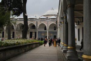 Topkapi Palace yard