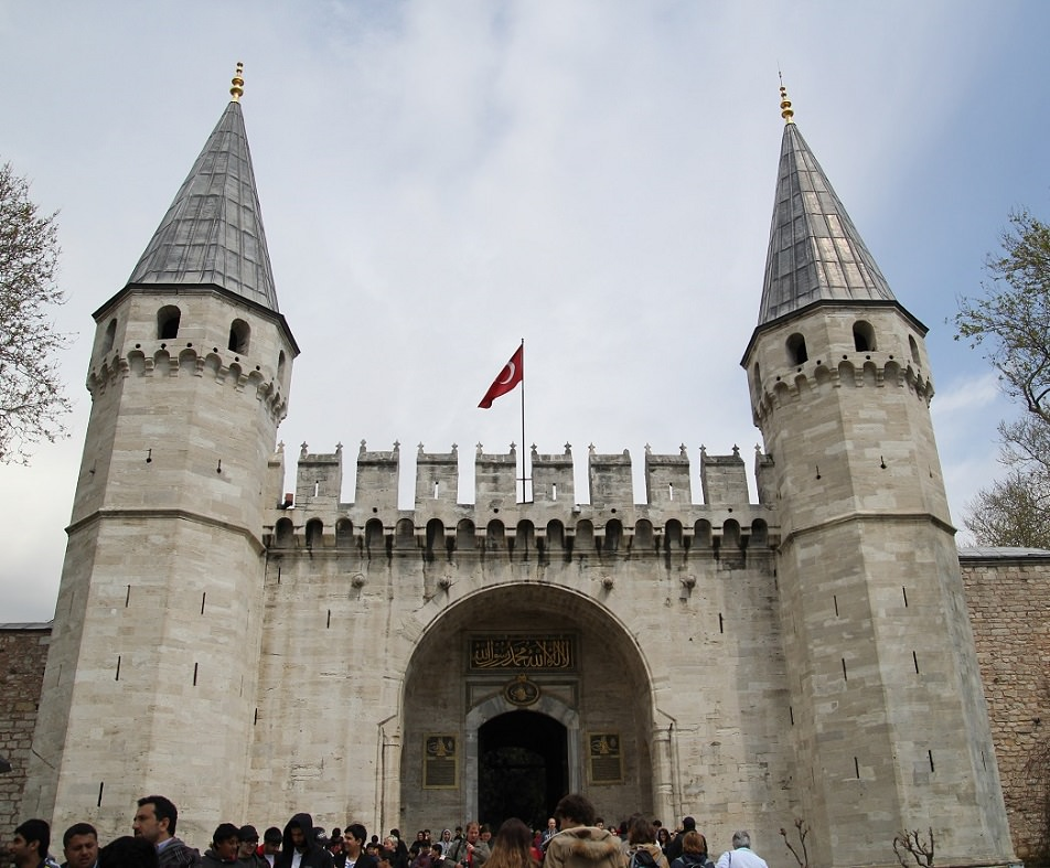 Topkapi Palace main entrance